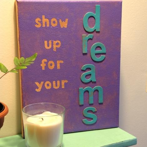Home Office Inspiration: Canvas Art (via thetulleshoppe.com)